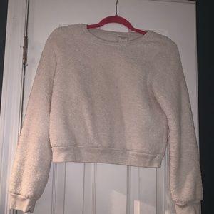 Abercrombie Fuzzy cropped sweater